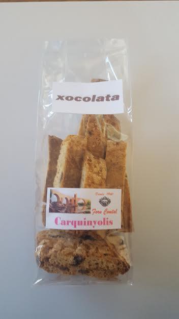 carquinyoli xocolata